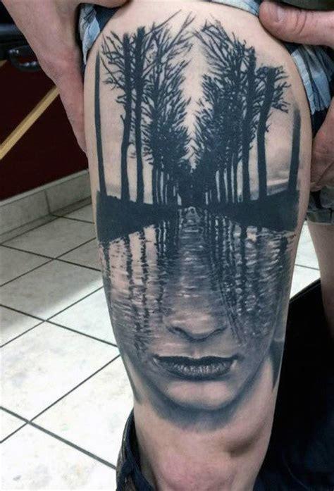 oberschenkel mann 70 oberschenkel tattoos f 252 r m 228 nner manly ink designs