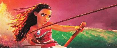 Disney Moana Princess Movies Wave She Shot