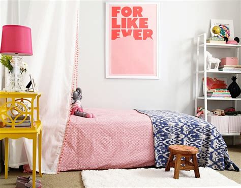 diy girls bed canopy contemporary girls room