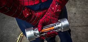 Spider-Man fan creates amazing real life working web-shooter