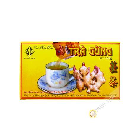 ustensile de cuisine asiatique thé asiatique the au gingembre 150g