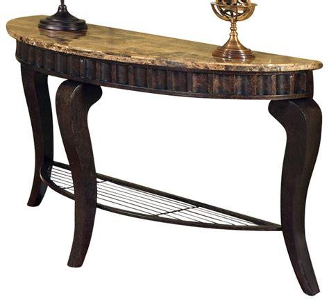 marble top sofa table steve silver hamlyn marble top sofa table traditional