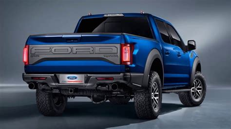 Ford F 150 Svt Raptor 2018