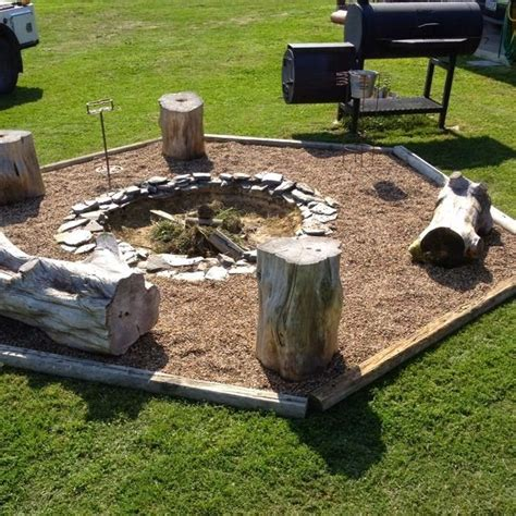 25 Best Ideas About Rustic Fire Pits On Pinterest Cloudy Girl Pics