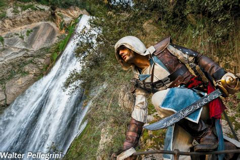 Waterfall Synchro Edward Kenway Cosplay By Leon By