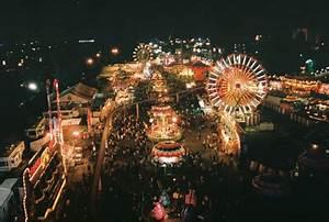 carnival, fair, ferris wheel, lights, photography - image ...