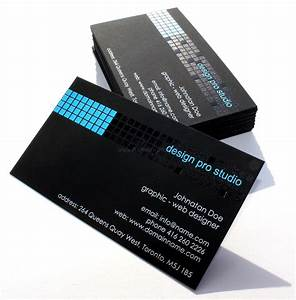Unique business cards archives permanent print for Business cards black