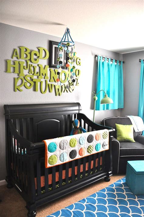 With a touch of creativity—and a few helpful tips—you can make your own gorgeous, diy nursery décor for a your baby's name is like music to your ears, so why not make it a treat for your eyes too? Alphabet wall and gender neutral for the next baby   Baby nursery design, Baby boy rooms, Baby ...