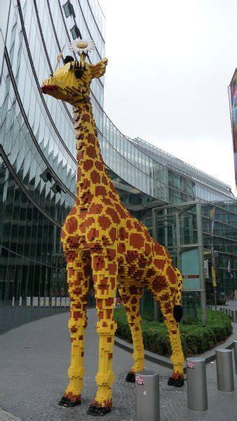omfg   giant lego giraffe photo