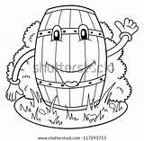 Humor Drinking Coloring Drunk Funny Beer Vector Keg Shutterstock Drunken sketch template