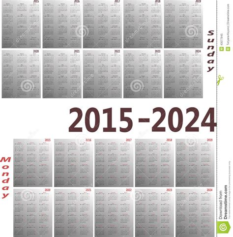 calendar stock vector illustration basic