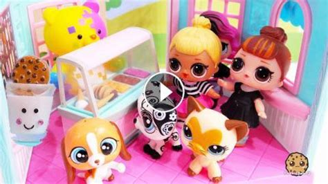 Collect glitter globe, fluffy pets and lils from the winter disco series to build an l.o.l. Cookie Crazy ! LOL Surprise Dolls + Littlest Pet Shop ...