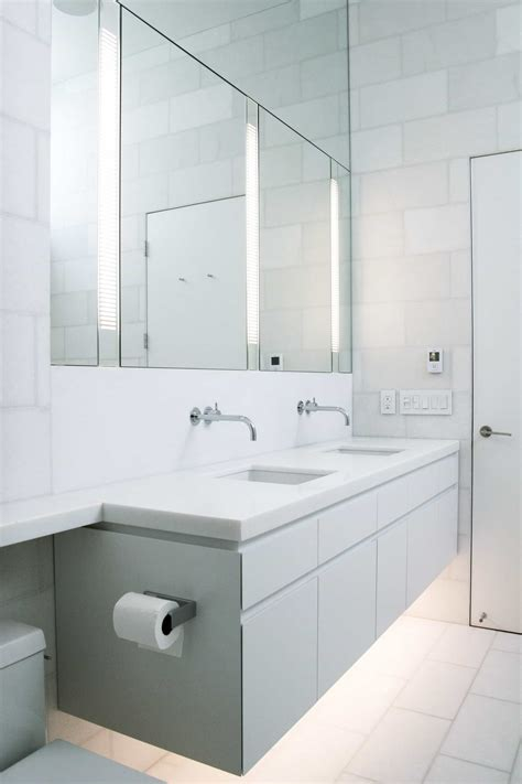 Large Modern Bathroom Mirrors by The Various Of Bathroom Mirror With Light Ideas 23926