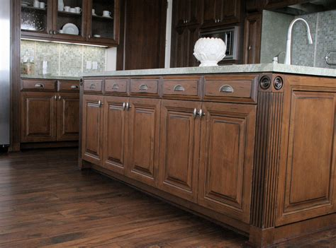 Distressing Kitchen Cabinets by Distressed Alder Cabinets In Malibu W L Rubottom
