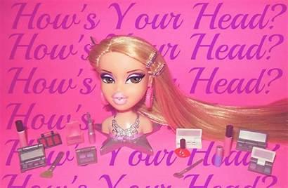 Barbie Bratz Aesthetic Makeup Head Daphne Doll