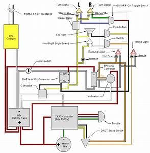 Electric Mini Moto Wiring Diagram