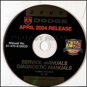 2005 Dodge Magnum Repair Shop Manual On Cd