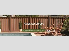 Trex Fencing, the Composite Alternative to Wood & Vinyl