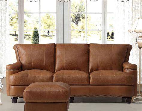 leather sofa saddle italia hutton 1669 furniture 2493 living room furniturepick