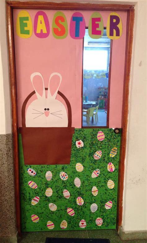 easter door decorations easter school door decoration for preschool 5