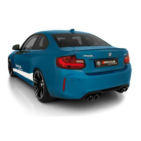Remus Cat Back Exhaust  Bmw M2  Clp Tuning