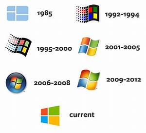 ms windows logo history | Logos | Pinterest | Logos ...