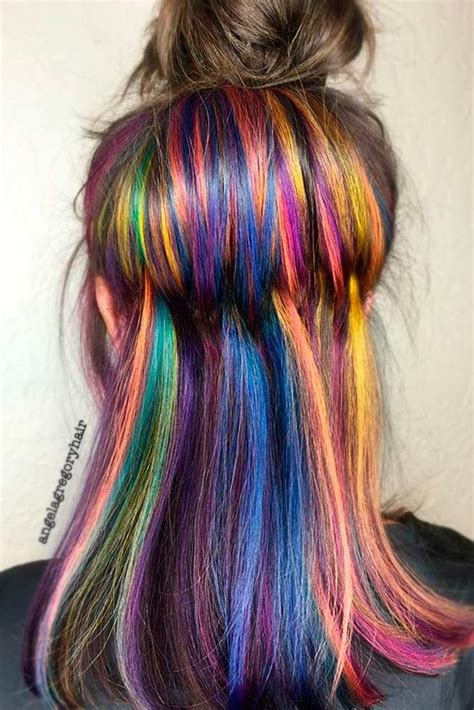 25 Best Ideas About Rainbow Hair On Pinterest Galaxy