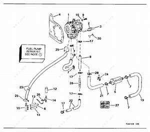 Johnson 1994 70 - J70elerc  Fuel Pump