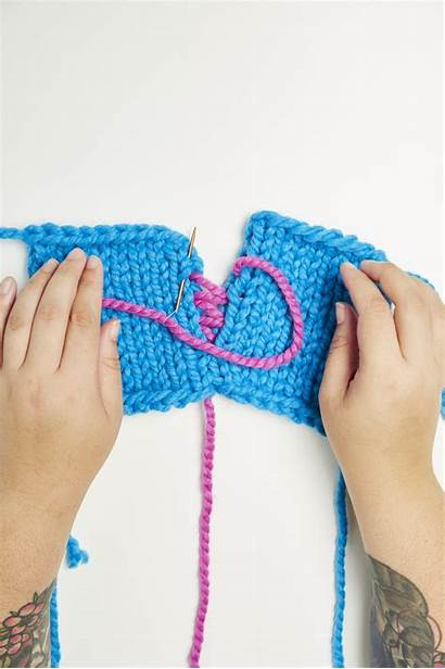 Mattress Stitch Knitting Tutorial Step Knit