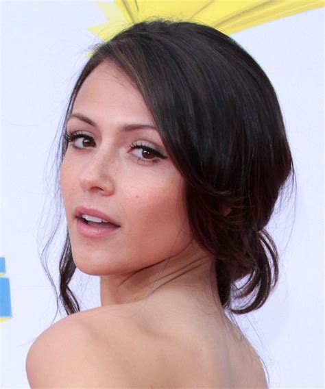 Italia Ricci Curly Formal Updo Hairstyle   Dark Brunette