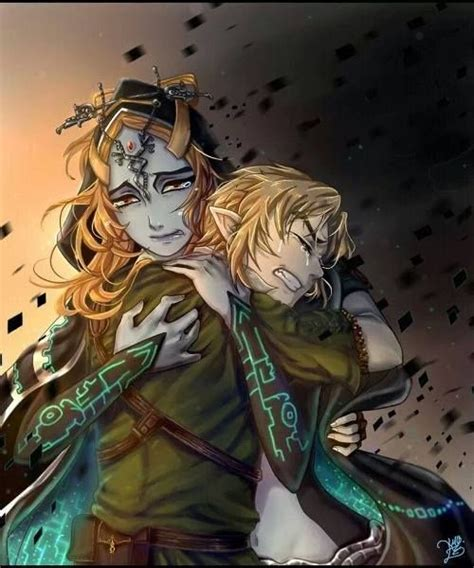 Midna And Link Legend Of Zelda Twilight Princess Fan