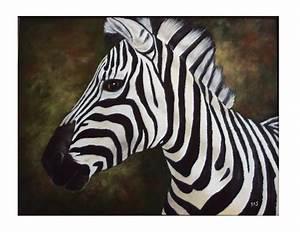 Zebra Painting Painting by Debra CerboneSteiner