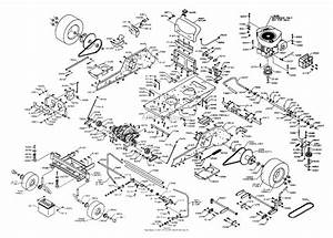 Dixon Ztr 3304  2003  Parts Diagram For Chassis