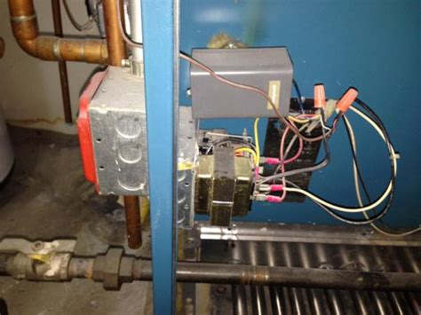 adding a c wire to burnham boiler doityourself community forums