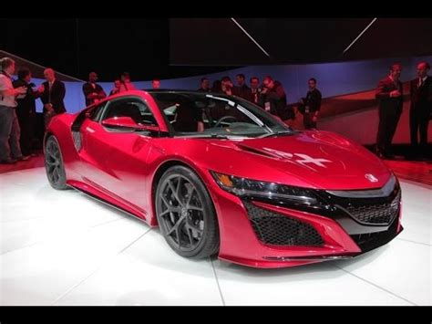 2016 acura nsx is fast youtube