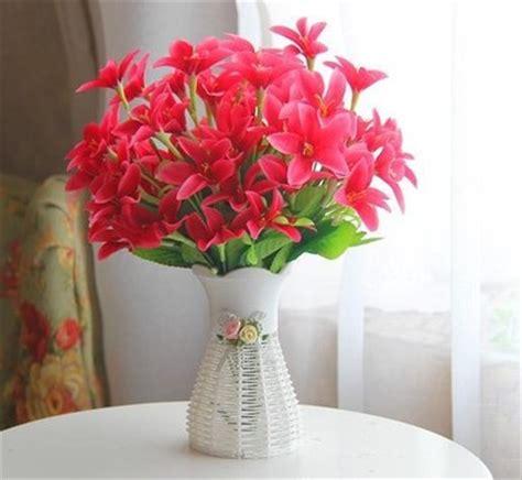 buy artificial flowers wedding living