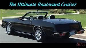 Cadillac Eldorado Cabriolet : 1979 cadillac eldorado roadstar convertible show car ~ Medecine-chirurgie-esthetiques.com Avis de Voitures