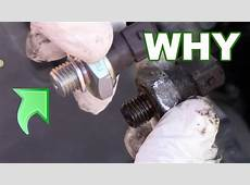 Oil Pressure Sensor Replacement YouTube