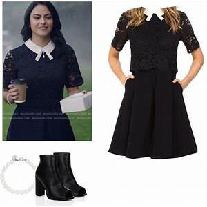 Veronica Lodge - Riverdale by shadyannon on Polyvore featuring Ted Baker and Tiffany u0026 Co ...