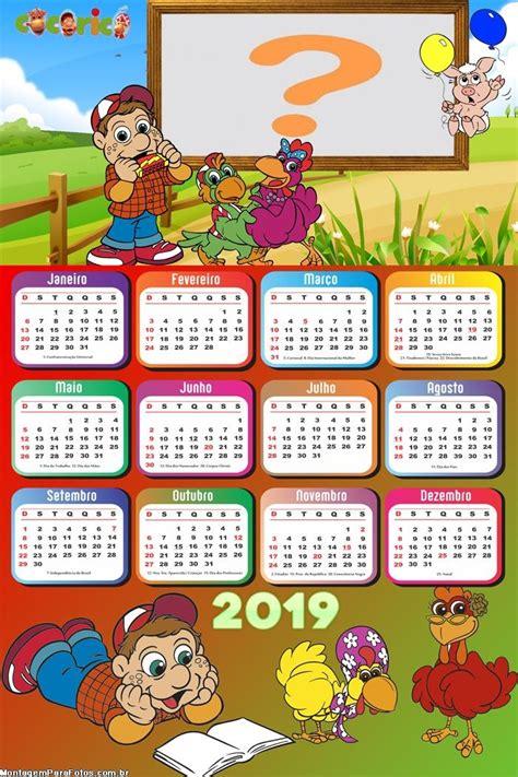 calendario cocorico montagem fotos