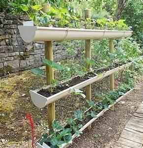 Gouttière Pas Cher : faire un potager en carr de jardin ou suspendu avec 3 ~ Premium-room.com Idées de Décoration