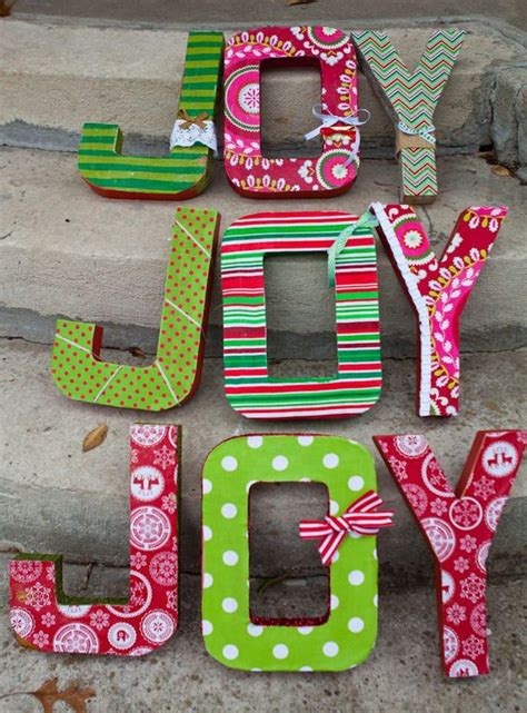 cool diy cardboard letters hative