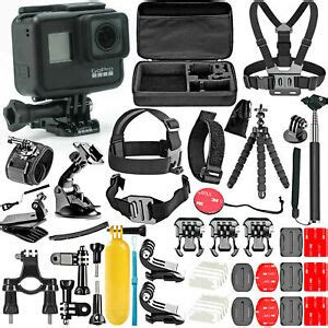gopro hero black piece action accessory kit