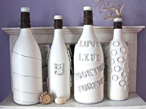 diy wine bottle diy idea to decorate a wine bottle the chelle project