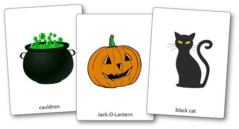 Flashcards Sur Le Thème D'halloween En Anglais  Flashcards Halloween Cycle 3