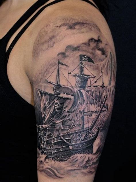 1001+ Idées  Tatouage Pirate  À L'abordage En 40 Photos