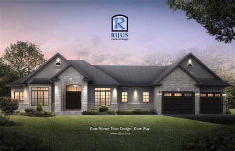 renderings home designs custome house designer rijus home design