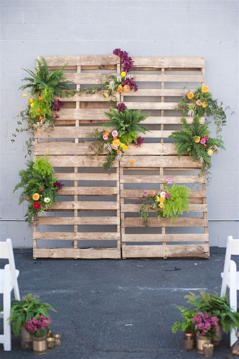 Wood Pallet Backdrop Notwedding Shoot Liebe Pinterest