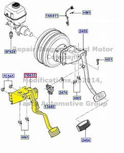 Brand New Oem Clutch Pedal  U0026 Bracket 1999