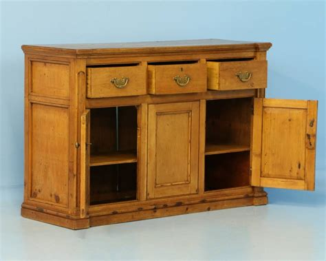 Antique Pine Sideboard by Antique Pine Buffet Sideboard Circa 1850 At 1stdibs